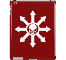 Mark of Chaos White iPad Case/Skin