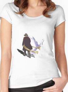 Four... Women's Fitted Scoop T-Shirt