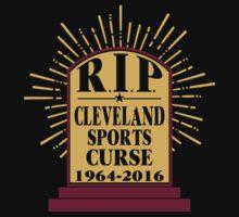 R I P Cleveland Curse Kids Tee