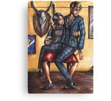 Hannibloom - Drunk Canvas Print
