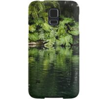 Green Tropical Paradise - the Gardens of the Museum of Art of Puerto Rico Samsung Galaxy Case/Skin