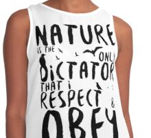 Nature the Dictator - Skyward Contrast Tank