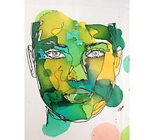 Ink Painting Photographic Print