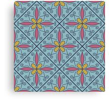 Moroccan Tile #1 Canvas Print