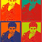 Ian Curtis Pop Art by borstal