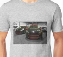 The Black and Red Fiesta (Lights Off) Unisex T-Shirt