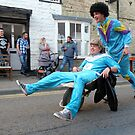 The British - Wheelbarrow Race  by RedSteve