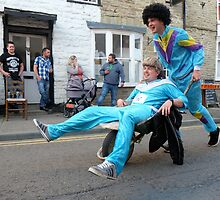 The British - Wheelbarrow Race  by RedSteve