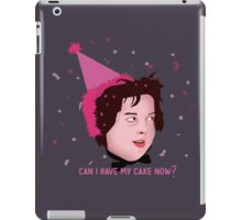 Can I Have My Cake Now? iPad Case/Skin