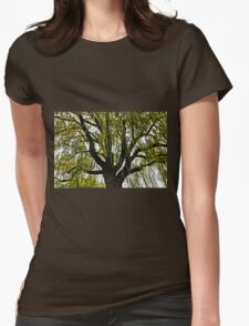 spring hopes muted Womens Fitted T-Shirt