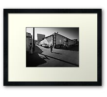 Early Morning Shadow Play Framed Print