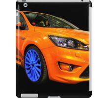 Orange Focus in HDR iPad Case/Skin