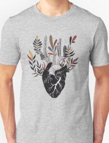 Floral Heart Unisex T-Shirt