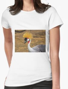 Perfect Bird Collection #4 - Cool Crane Womens Fitted T-Shirt