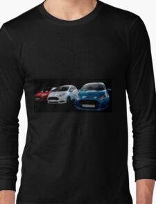 Red, White and Blue Fiestas Long Sleeve T-Shirt