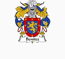 Benitez Coat of Arms/ Benitez Family Crest Unisex T-Shirt