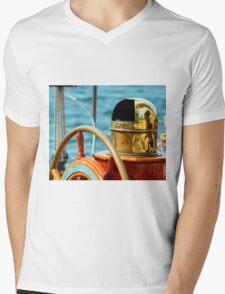 Find Your Direction Mens V-Neck T-Shirt