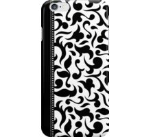 Elegant Black And White Damask Cases / Pillow/ Tote Bag iPhone Case/Skin