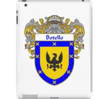 Botello Coat of Arms/Family Crest iPad Case/Skin