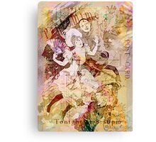 The Dancer and the Pierrot Canvas Print
