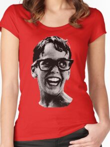 Squints, big Women's Fitted Scoop T-Shirt