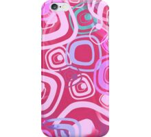 Sixties Hippie Psychedelic Pink iPhone Case/Skin
