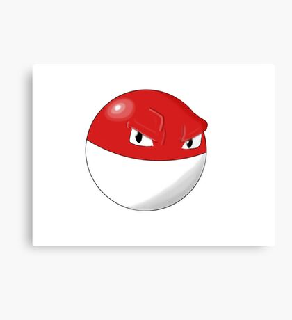 Pokemon Voltorb Canvas Print