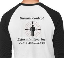 Exterminators Men's Baseball ¾ T-Shirt