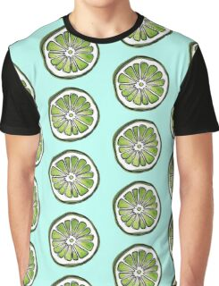 lime watercolor  Graphic T-Shirt