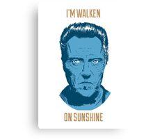 Walken On Sunshine Canvas Print