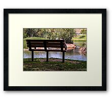 A Peaceful Place  Framed Print