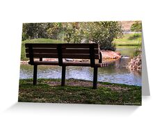 A Peaceful Place  Greeting Card