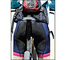 Making Butts by Bike  Photographic Print