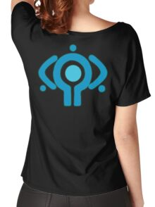 serial experiment lain copland OS enterprise logo Women's Relaxed Fit T-Shirt