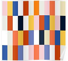 Nice Colorful retro Fashion Pattern Original Design Poster
