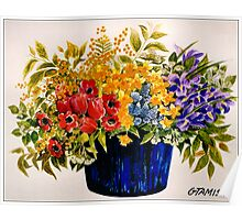 BEAUTIFUL FLOWER ART Poster