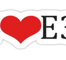 I love Emblem3 Sticker