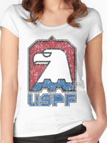 USPF United States Police Force logo Women's Fitted Scoop T-Shirt