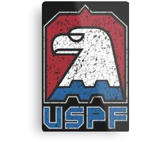 USPF United States Police Force logo Metal Print