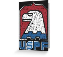 USPF United States Police Force logo Greeting Card