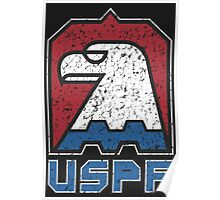 USPF United States Police Force logo Poster