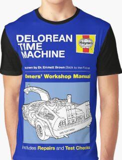 Haynes Manual - Delorean - T-shirt Graphic T-Shirt