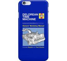 Haynes Manual - Delorean - T-shirt iPhone Case/Skin