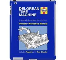 Haynes Manual - Delorean - T-shirt iPad Case/Skin