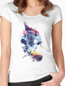 soulful owl Women's Fitted Scoop T-Shirt
