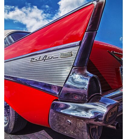 Red Bel Air Sticker