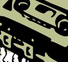 Cassette Splatter Sticker