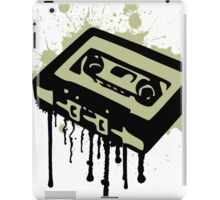Cassette Splatter iPad Case/Skin