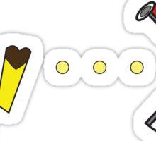 Pac-Achu Sticker