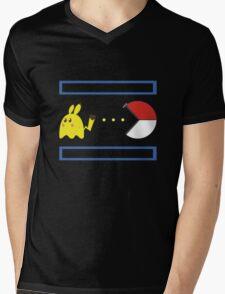 Pac-Achu Mens V-Neck T-Shirt